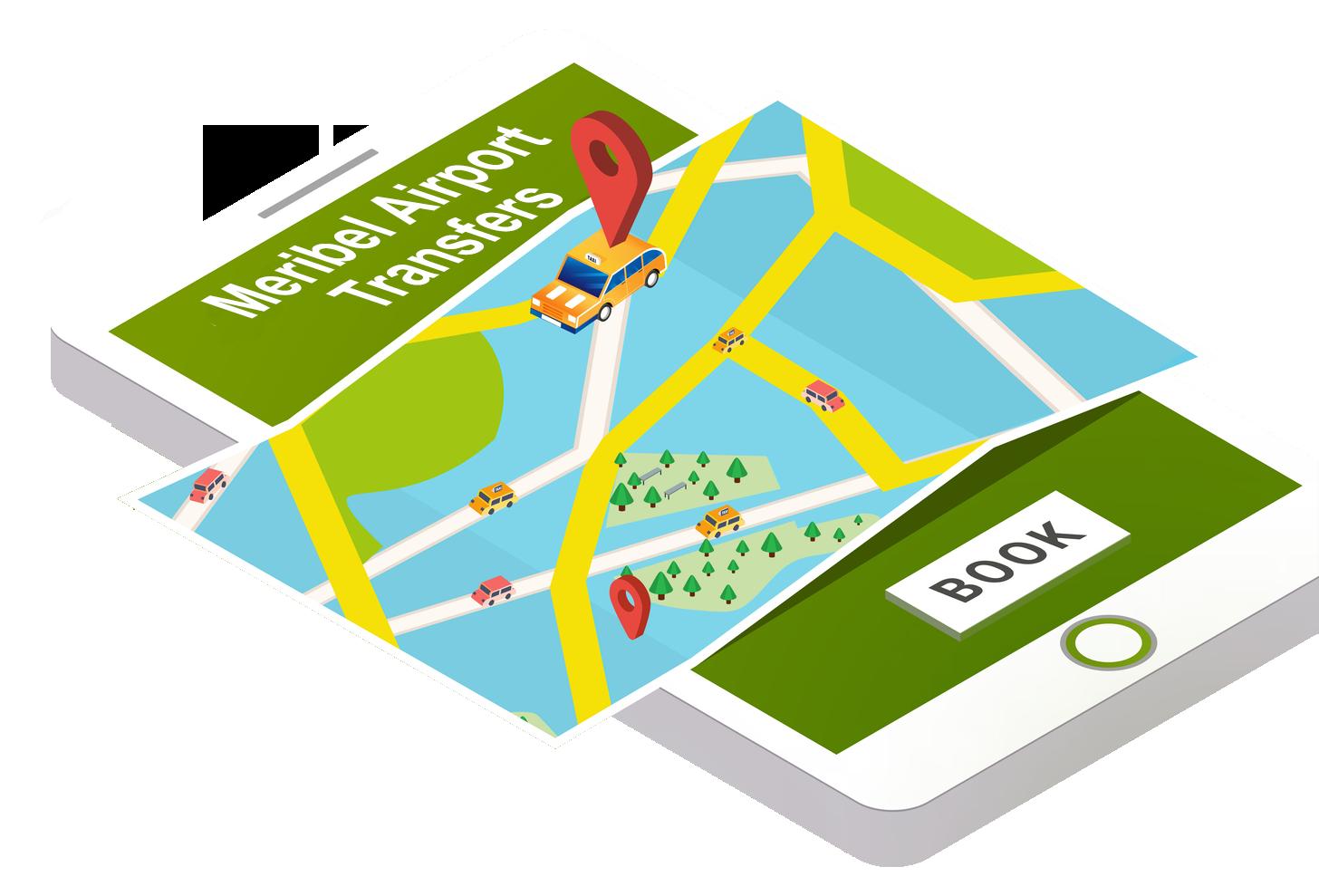 Meribel Airport Transfer Booking
